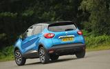 Renault Captur rear cornering