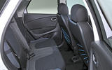 Renault Captur rear seats