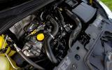 0.9-litre Renault Clio petrol engine