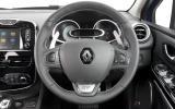 Renault Clio GT-Line steering wheel