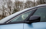 Renault Grand Scenic A-pillar window