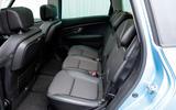 Renault Grand Scenic rear seats
