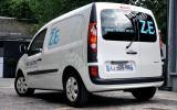 Renault launches Kangoo Van ZE