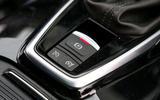 Renault Koleos electronic parking brake