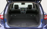 Renault Koleos extended boot space
