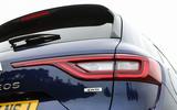 Renault Koleos rear LED lights