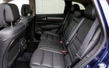 Renault Koleos rear seats
