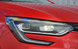 Renault Megane C-shaped headlight