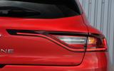 Renault Megane rear lights