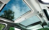 Renault Scenic twin panoramic sunroof
