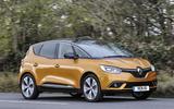 Renault Scenic cornering