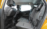 Renault Scenic rear seats