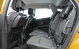 Renault Scenic rear seats