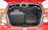 Renault Twingo RS133 boot space