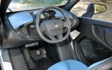 Renault Twizy dashboard