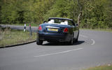 Rolls-Royce Dawn rear cornering