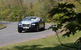Rolls-Royce Dawn cornering