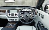 Rolls-Royce Dawn dashboard