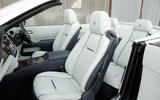Rolls-Royce Dawn front and rear seats