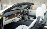 Rolls-Royce Dawn veneer dashboard