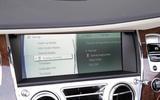 Rolls-Royce Dawn iDrive system