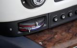 Rolls-Royce Dawn climate controls
