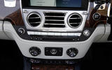 Rolls-Royce Dawn centre console
