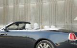 Rolls-Royce Dawn roof down