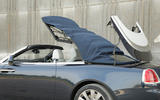 Rolls-Royce Dawn roof opening