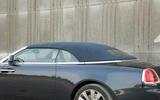 Rolls-Royce Dawn roof closed