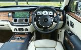 Rolls-Royce Ghost Series II dashboard