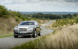 Rolls-Royce Ghost cornering