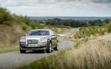 Rolls-Royce Ghost cornering