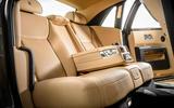 Rolls-Royce Ghost rear seats