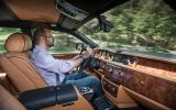 Driving the Rolls-Royce Phantom EWB