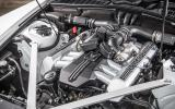 6.75-litre V12 Rolls-Royce Phantom engine