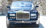Rolls-Royce Phantom front end