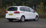 Seat Alhambra rear quarter