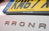 Seat Arona badging
