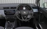 Seat Arona dashboard