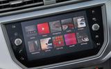 Seat Arona infotainment system