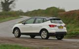 Seat Arona rear cornering