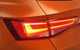 Seat Ateca rear LED lights