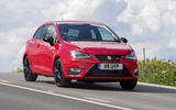 Seat Ibiza Cupra accelerating