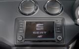 Seat Ibiza Cupra infotainment system