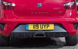 Seat Ibiza Cupra rear end