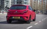 Seat Ibiza Cupra rear quarter