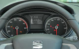 Seat Ibiza instrument cluster
