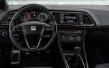Seat Leon Cupra dashboard