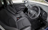 Seat Leon 5dr hatch dashboard